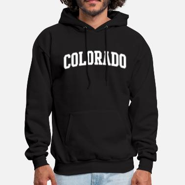 Colorado State of Colorado College Letters math - Men's Hoodie