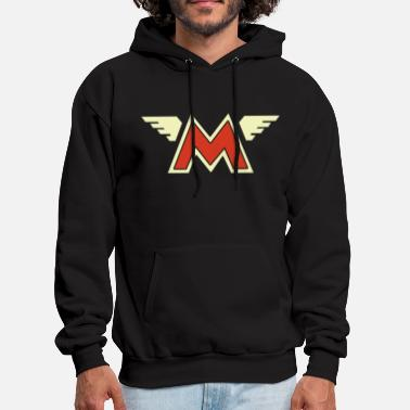 Matchless Matchless Retro Wing Style Motorcycle Printed Size - Men's Hoodie