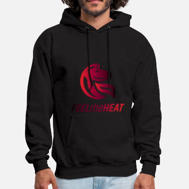 Heat feel the heat - Men's Hoodie