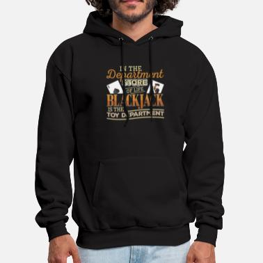 Blackjack I Love Blackjack - Men's Hoodie