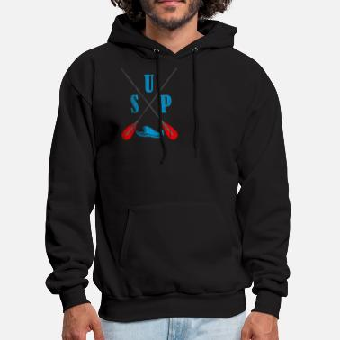 Stand Up Paddling SUP Paddle - Men's Hoodie