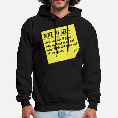 Expression Note to self - Men's Hoodie