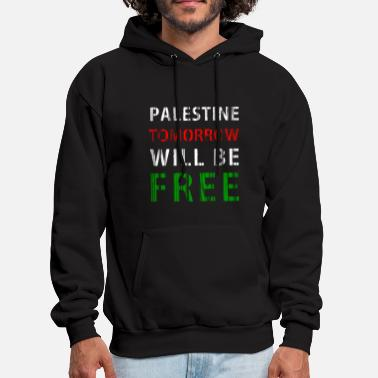Palestinian Palestine tomorrow will be free - Men's Hoodie