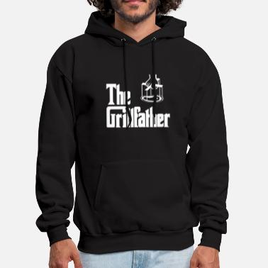 The Grillfather BBQ Grilling Meat Barbeque - Men's Hoodie