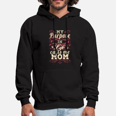 Bling my purpose in life calls the mom t shirts - Men's Hoodie