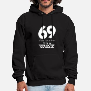 Cunnilingus 69 sex number lifestyle oral fun kind of dirty hor - Men's Hoodie