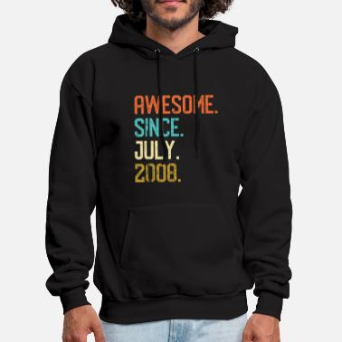 Awesome Since awesome since july 2008 awesome - Men's Hoodie