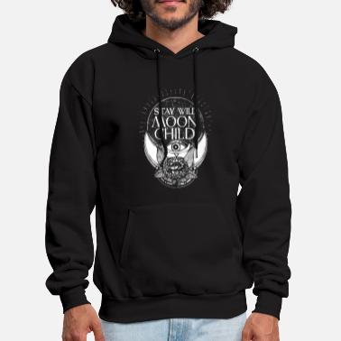 Moon stay wild moon child son - Men's Hoodie