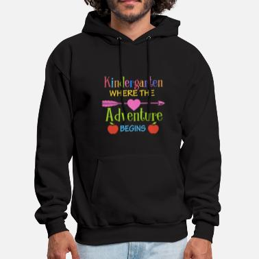 Kindergarten Where The Adventure Begins Shirt Kind - Men's Hoodie