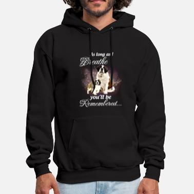 as long as i breathe you will be remembered st ber - Men's Hoodie