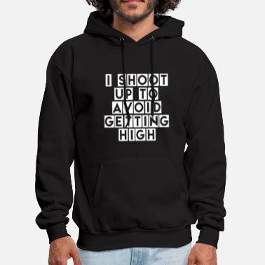 i shoot up to avoid getting high husband game - Men's Hoodie
