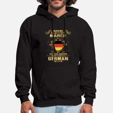 queens are born in march but the real queens are b - Men's Hoodie