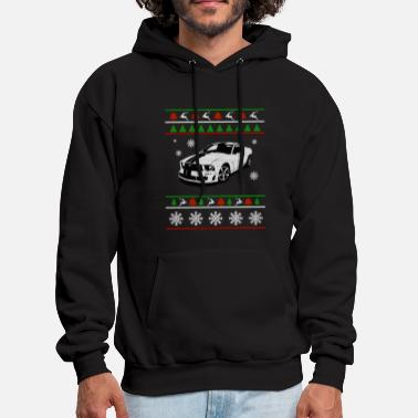 Sports Car Sport car Ugly Christmas Sweater - Men's Hoodie