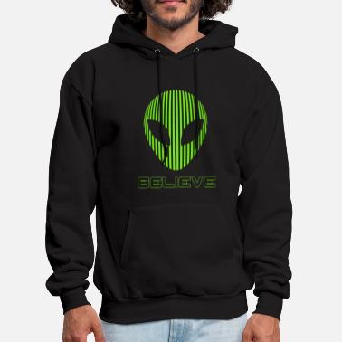 Believe Alien Believe science - Men's Hoodie