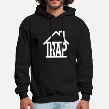 Trap Trap House music t shirts - Men's Hoodie