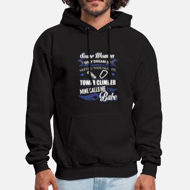 Climber Tower climber - Some dream of meeting a Climbing - Men's Hoodie