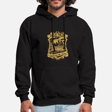 Cultural Capital Bochum Germany forever runs through my veins - Men's Hoodie