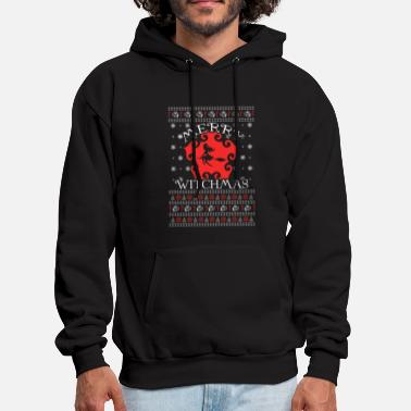 Birth Witch - Ugly Christmas Sweater - Men's Hoodie