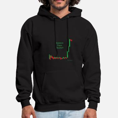 Stock Squeeze them shorts!!! - Men's Hoodie