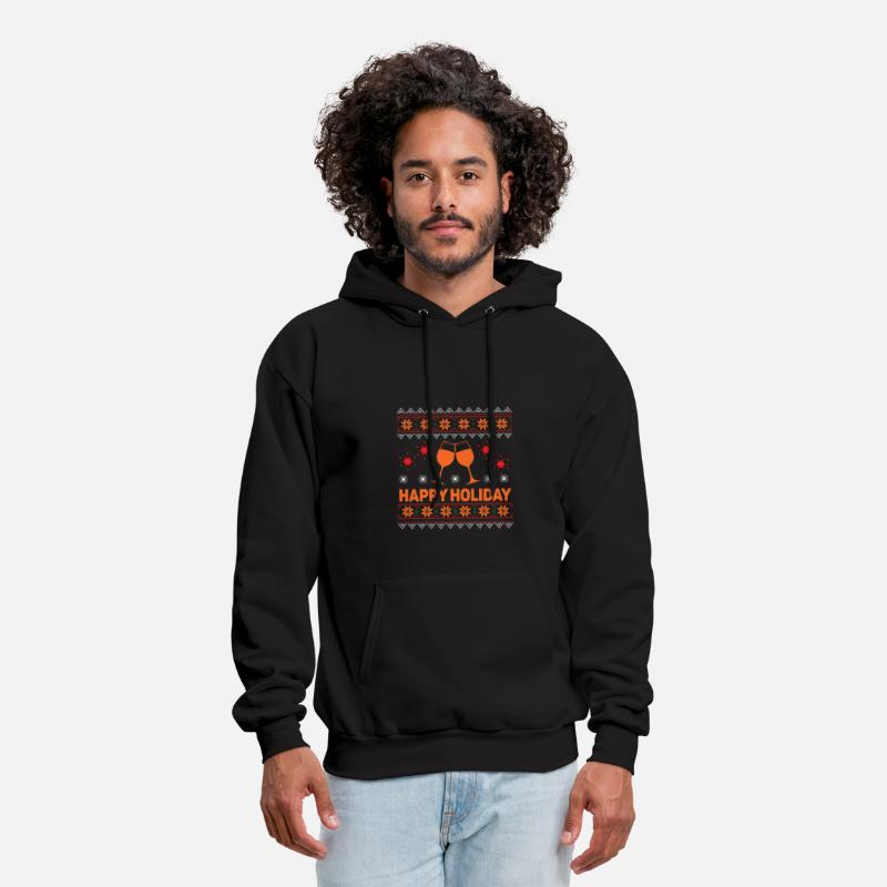 Funny Ugly Christmas Sweater Mens Hoodie Spreadshirt