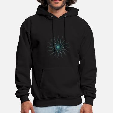 Moon Star Star one - Men's Hoodie
