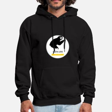 Sloth Love - Men's Hoodie