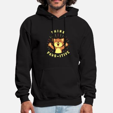 Virus Think Pawsitive - Men's Hoodie