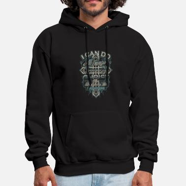 Christianity Christ - Christ - i can do all things through ch - Men's Hoodie