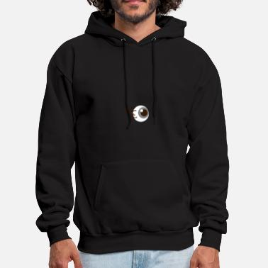 Contact eye contact - Men's Hoodie