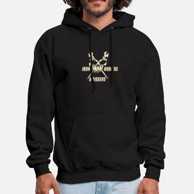Iron Worker Iron workers and riggers skull - Men's Hoodie