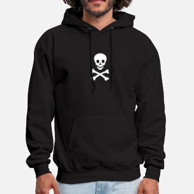 Skull And Bones Skull Bones Funny T Shirt - Men's Hoodie