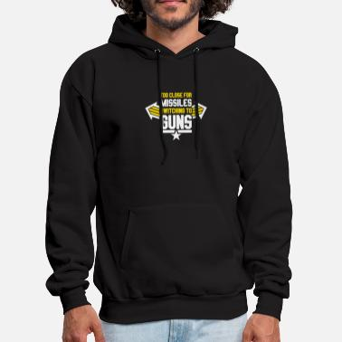 Missile Missiles Switching To Guns - Men's Hoodie