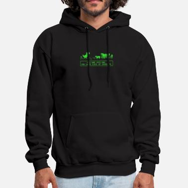 Boredom Died of Boredom - Men's Hoodie