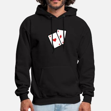 Card Gambling Poker Cards - Men's Hoodie