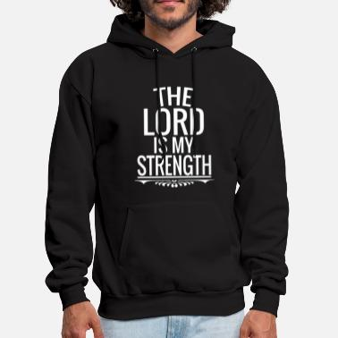The Lord Jesus Christ God Bible Faith Cross Gift - Men's Hoodie