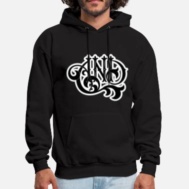Lettering AND Lettering - Men's Hoodie