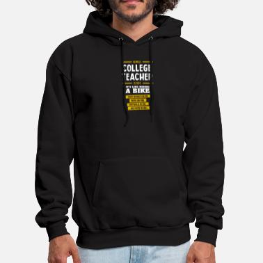 college teacher - Men's Hoodie