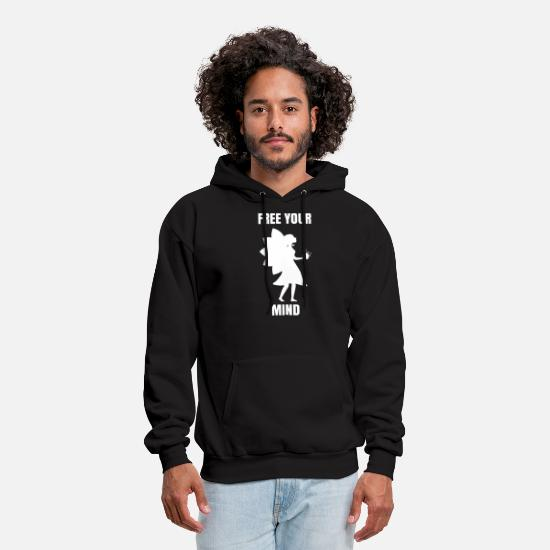 Fairy Hoodies & Sweatshirts - Fairy tail - Free your mind with fairy - Men's Hoodie black