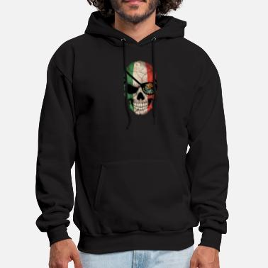 Pirate Mexican Pirate Skull - Men's Hoodie