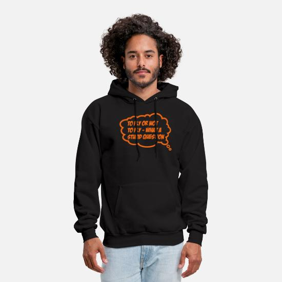 Fly Hoodies & Sweatshirts - fly - Men's Hoodie black