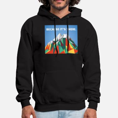Tsmic Because Its There - Men's Hoodie
