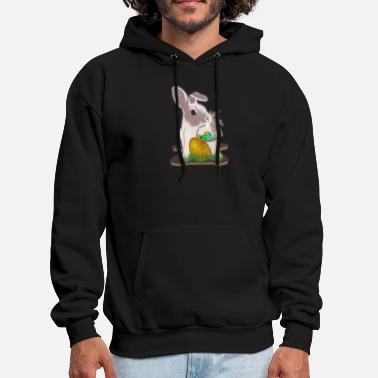 Easter Bunny Easter bunny with Easter basket - Men's Hoodie