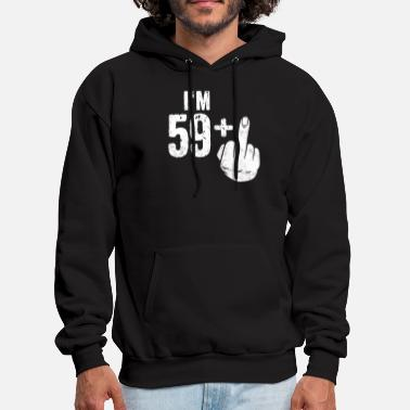Birthday Funny 60th Birthday Shirt Bday Present Sixty - Men's Hoodie