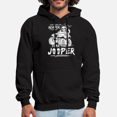 dont fear the reaper jeep t shirts - Men's Hoodie
