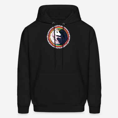 8fd79fa3d14f Gift) Yin Yang unicorn Men s Premium T-Shirt