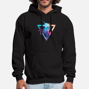 Rainbow Galaxy Unicorn Galaxy Unicorn T Shirt - Men's Hoodie