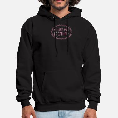 my yoga mat is calling - Men's Hoodie