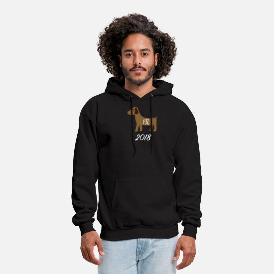 Pop Art Hoodies & Sweatshirts - Chinese New Year 2018 - Men's Hoodie black