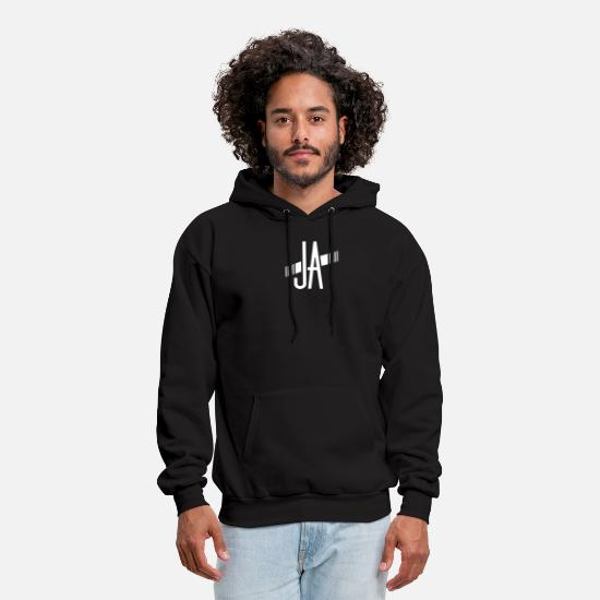 Symbol  Hoodies & Sweatshirts - Ja Funny T-shirt - Men's Hoodie black