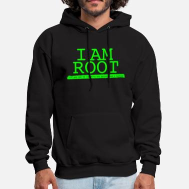Linux - i'm root linux by linux - Men's Hoodie